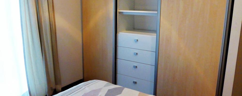 Guest bedroom plenty of storage