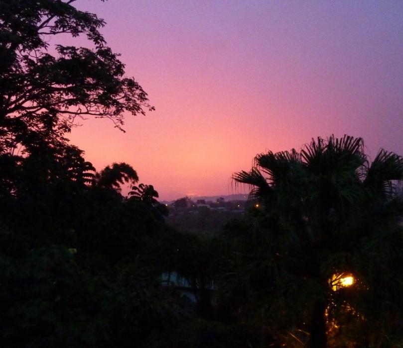 Poas view from the Volcano Studio