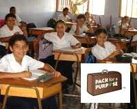 Read more about how to help local schoolchildren through the Pura Vida Hotel